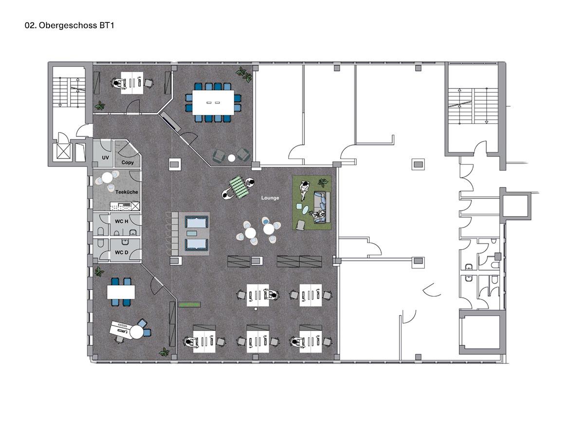 02. Obergeschoss BT1